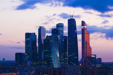 Papiers peints Toronto Landscape Moscow city, Moscow, Russia