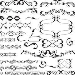 baroque design set