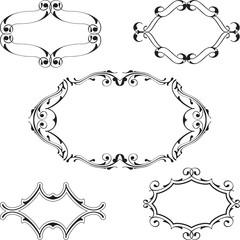 Baroque frame set