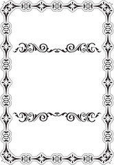 Baroque Art Frame
