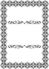 Baroque Vintage Scroll Perfect Frame