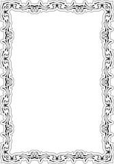 Vintage orient frame