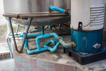 Residential water system for private use