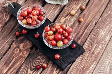 Washed ripe gooseberry