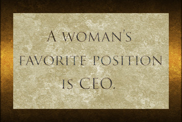 Woman CEO