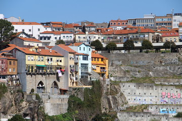 Vistas de Oporto. Portugal
