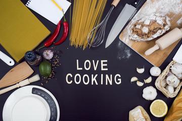 Love cooking hero header image