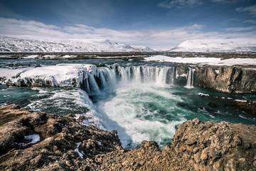 Godafoss Wasserfall auf Island