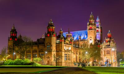 Kelvingrove Art Gallery and Museum in Glasgow, Scotland