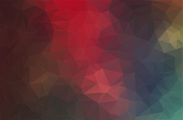 Purple vector background with triangles