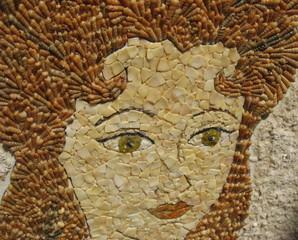 Перламутровая мозаика из морских ракушек