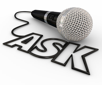 Ask Microphone Questions Answers Cord Inquiry