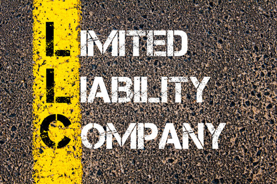 Business Acronym LLC as Limited Liability Company