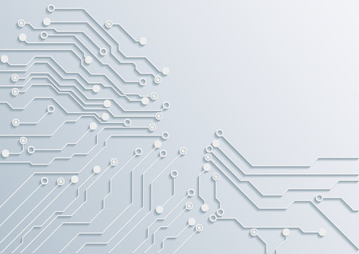 circuit board abstract backgrounds.vector illustration.