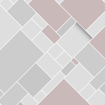 Vector Grey Rectangular Structured Background