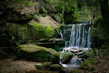 Kneippweg wolfsschlucht Wasserfall