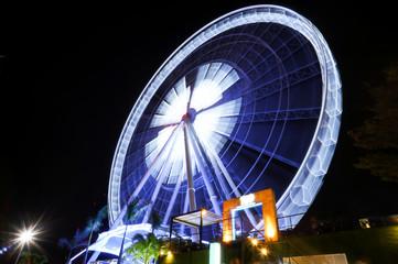 ferris wheel in bangkok thailand