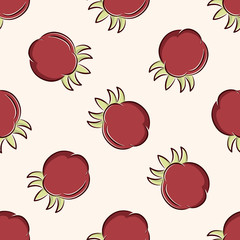vegetable icon,10,seamless pattern