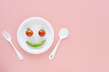 野菜 スマイル 笑顔