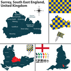 Surrey, South East England, UK