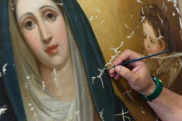 pittura e restauro