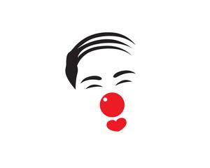 Clown Logo, Humor for Love