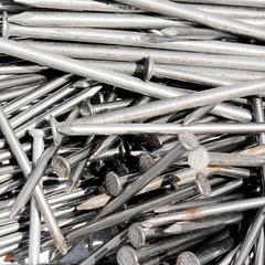 iron nails background