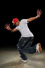 African American Hip Hop Dancer