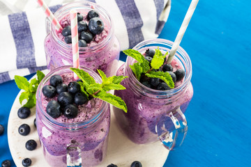 Blueberrie smoothie