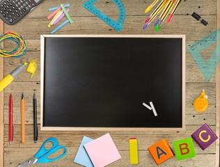 Blackboard, Education, Chalk.