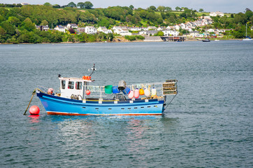 Fishing Boat anchored in Harbour