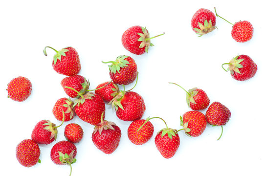 juicy, ripe strawberries straight from the home beds for you