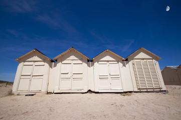 Cabines de plage - Ouistreham