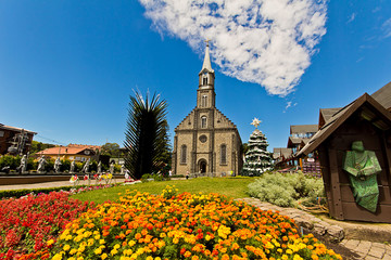 St. Peter's Church (Catedral de Pedra). Gramado city, Rio Grande do Sul - Brazil