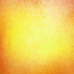 bright gold background with orange grunge border, autumn or thanksgiving background colors