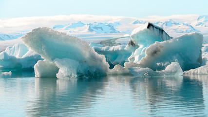 Foto op Canvas Gletsjers Jokulsarlon glacier Lagoon