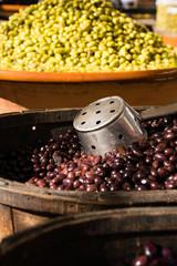 Marktstand - Oliven