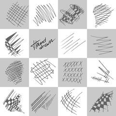 Abstract strokes