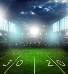 Football, american, stadium.