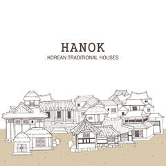 Korean traditional houses E