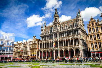 Grand Place, Brussels, Bruxelles, Belgium