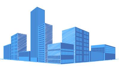 Gebäude | technisch | skizziert