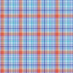 Fabric texture. Seamless tartan pattern. Vector background.