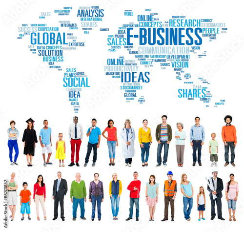 E-Business Ideas Analysis Communication Solution Social