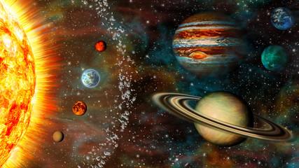3D Widescreen Solar System