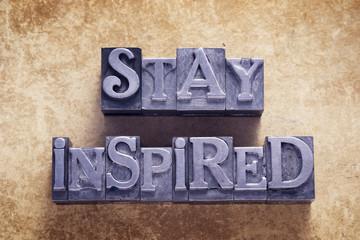 stay inspired met