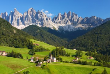 Foto auf Acrylglas Alpen The Dolomites in the European Alps