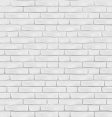 Brick wall background. Vector