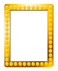 Movie Poster Frame With Lights