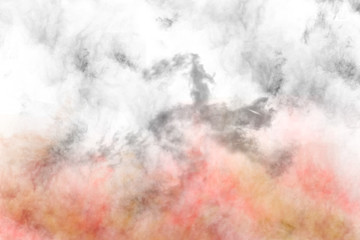 Textured Smoke, Abstract colorful